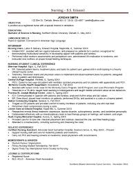 Rn Resume Cover Letter Templates Graduate Nurse And Examples On