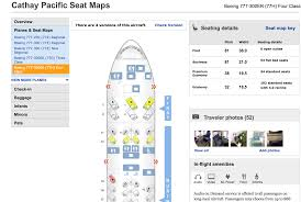Cathay Pacific 773 Seating Chart Cathay Pacific Premium Economy Seat Map Best Description