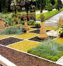 Creative and colorful garden design ideas