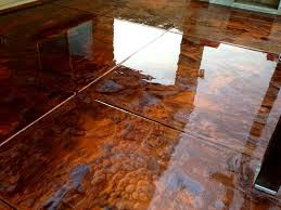 Copper Metallic Epoxy Flooring
