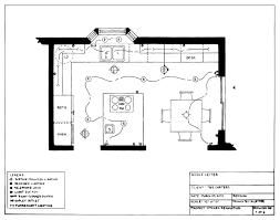 kitchen lighting plans. Lighting And Electrical Plans For A Kitchen Wwwpixshark