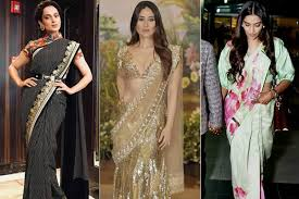 There are many bollywood actresses in the world 2020, who became popular in a very short time by maintaining their status and personality in the audience heart and many of their fans are excited to. The Best Looks Of Indian Actresses In Sarees