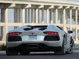 lamborghini aventador white back. lamborghini aventador lp7004 roadster back of white