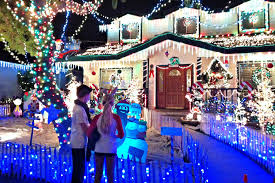 Pasadena Christmas Lights Best Christmas Light Displays And Home Holiday Decorations