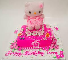 Hello Kitty Birthday Cake Chedz Cakes Of Cebu
