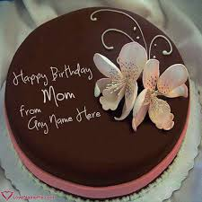 Birthday Cake Maker For Mother Online With Name