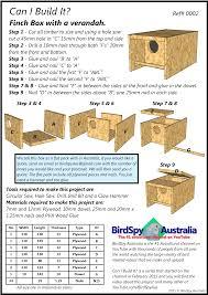 simple finch nest box birdspy plans