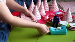 how to make girly things out of paper easy party hat tutorial youtube