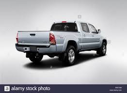 2008 Toyota Tacoma PreRunner in Silver - Rear angle view Stock ...