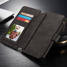 caseme luxury wallet case zwart voor apple iphone 6 plus 6s plus