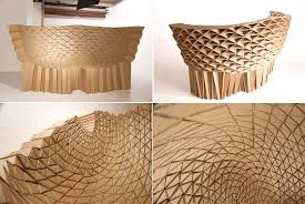 Cardboard Furniture - Surprisingly Strong And Unexpectedly Stylish