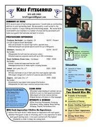 Professional Restaurant Server Resume Http Topresume Info
