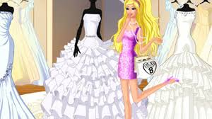 free barbie at bridal boutique dress up game barbie game for s you