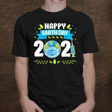 Earth day 2021 in the united states is on thursday, april 22, with the day bringing environmental awareness to the public. Happy Earth Day 2021 Planet Earth Wearing Funny Mens Shirt