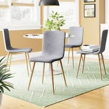 dining chairs set of 4. Amir Upholstered Dining Chair (Set Of 4) Chairs Set 4