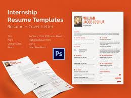 Internship Mockup X Website Photo Gallery Examples Internship Resume