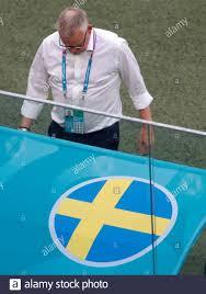 Calcio Calcio - Euro 2020 - Gruppo e - Svezia / Polonia - Stadio di San  Pietroburgo, San Pietroburgo, Russia - 23 Giugno 2021 Svezia allenatore  Janne Andersson Pool via REUTERS/Maxim Shemetov Foto stock - Alamy