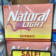 Natural Light Strawberry Lemonade Price Spotted Natural Light Naturdays Strawberry Lemonade The