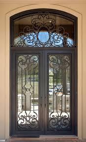 Wrought Iron Patio Doors Door Grill Designs House Gate Screen
