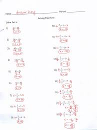 algebra 1 solving equations worksheet answers worksheets for all and share worksheets free on bonlacfoods com