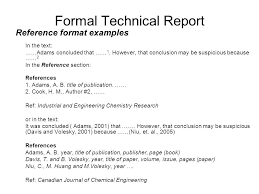 Engineering Technical Report Template Format Of Technical Report Filename Portsmou Thnowand Then