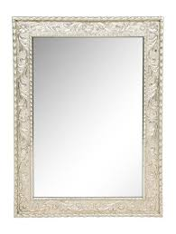 name indian style metal clad wall mirror