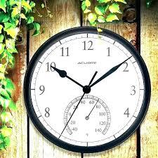 patio clocks patio clock patio clocks and thermometers outdoor clock thermometer outdoor clock thermometer outdoor patio