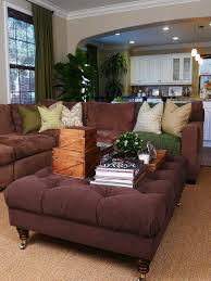 Living Room Settings Photos Hgtv Contemporary Purple And Green Living Room With