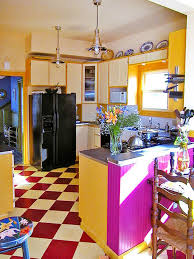 yellow and white painted kitchen cabinets. Blend Natural Woods With Painted Surfaces Yellow And White Kitchen Cabinets D