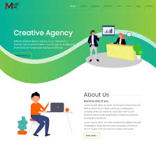 Download Free Creative Agency Startup Website Template