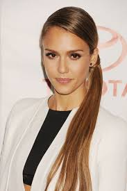 celebrity ponytails a list hairstyles