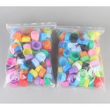 Túi nắp nút chai nhiều màu cho bé luyện vận động tinh, chơi nhiều trò chơi  bổ ích giảm chỉ còn 25,000 đ