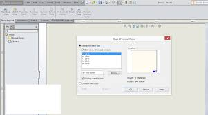sheet format how to edit and customize sheet format in solidworks