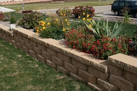 Small Picture Backyard Retaining Wall Designs Simple Retaining Wall Ideas For