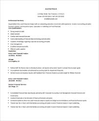 entry-level-financial-analyst-resume