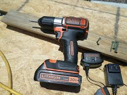 black and decker 20v drill. battery pack and charger included black decker 20v drill