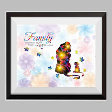 The Lion And King Simba Watercolor Canvas Print Nursery Decor Inspirational Quotes C090