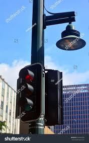 Stop Light Lamp Stop Light Lamp Post Stock Photo Edit Now 502696390