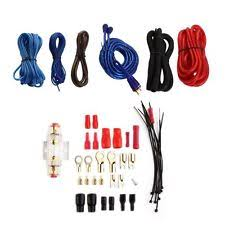 gps audio and in car technology wiring kit 1500 watt audio 8 gauge car amplifier amp subwoofer wiring cable wire kit uk