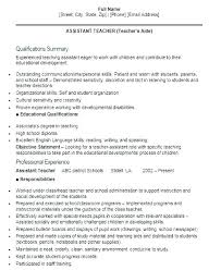 Resume Objective For Preschool Teacher Best of Assistant Teacher Resume Sample Resume Teacher Assistant Best