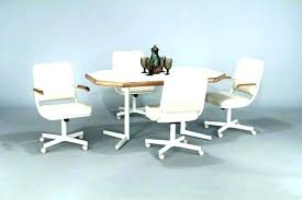 rolling dining chairs. Rolling Dining Chair Kitchen Casters Fashionable For Room Chairs On Wheels Ideas