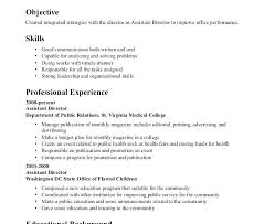 Resume Interests Section Blaisewashere Com