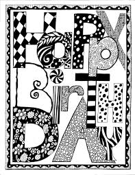Printable Black And White Birthday Cards | Printable Cards