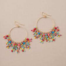 summer fun chandelier earrings