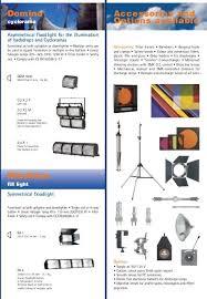 Gobo Holder Size Chart Vedette Alluminium Follow