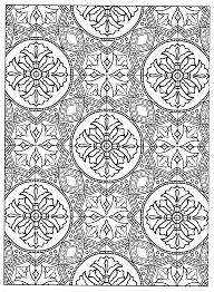Decorative Tile Designs Page 100 from Decorative Tile Designs by Marty Noble Coloring Pages 51