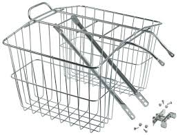 wald 520 twin rear carrier basket