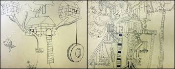 how to draw a treehouse step by step. Interesting Draw Due To The Rushed Nature Of This Last Assignment I Donu0027t Have Many  Finished Examples Share Several Students Promised Finish What They Started Over  In How To Draw A Treehouse Step By