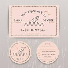 rsvp card template nautical message in the bottle wedding invitation and rsvp card