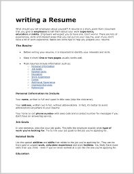 What To Put On A Resume Fantastic What to Put In A Resume for A Job 24 Resume Ideas 1